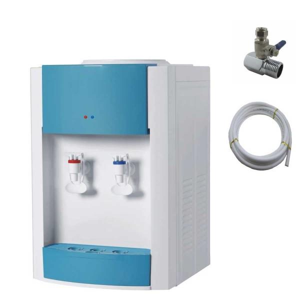 Dozator apa birou Prestige- conectare la reteaua de apa sau la un sistem de filtrare